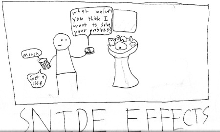 Snide Effects comic